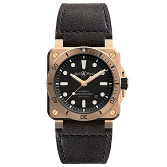 Bell & Ross Br03 Men's Bronze Strap Watch - Product number 9306439