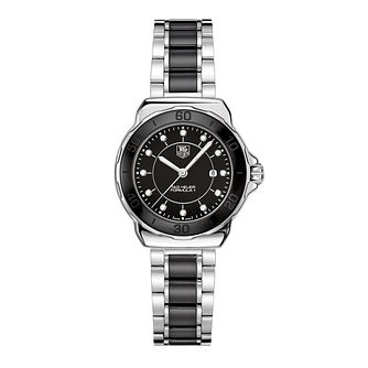TAG Heuer Formula 1 Ladies' Black Ceramic Bracelet Watch - Product number 9337377