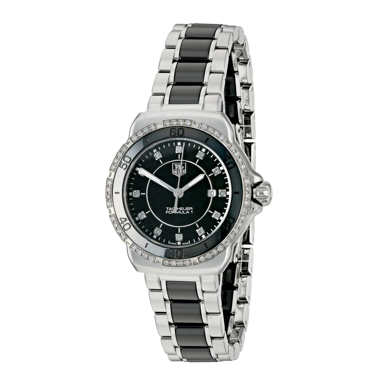 TAG Heuer Formula 1 Ladies' Two Colour Bracelet Watch - Product number 9337393