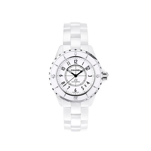 Chanel J12 White Ceramic Bracelet Watch - Product number 9339515