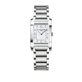 Baume & Mercier Hampton Ladies' Diamond Bracelet Watch - Product number 9382879