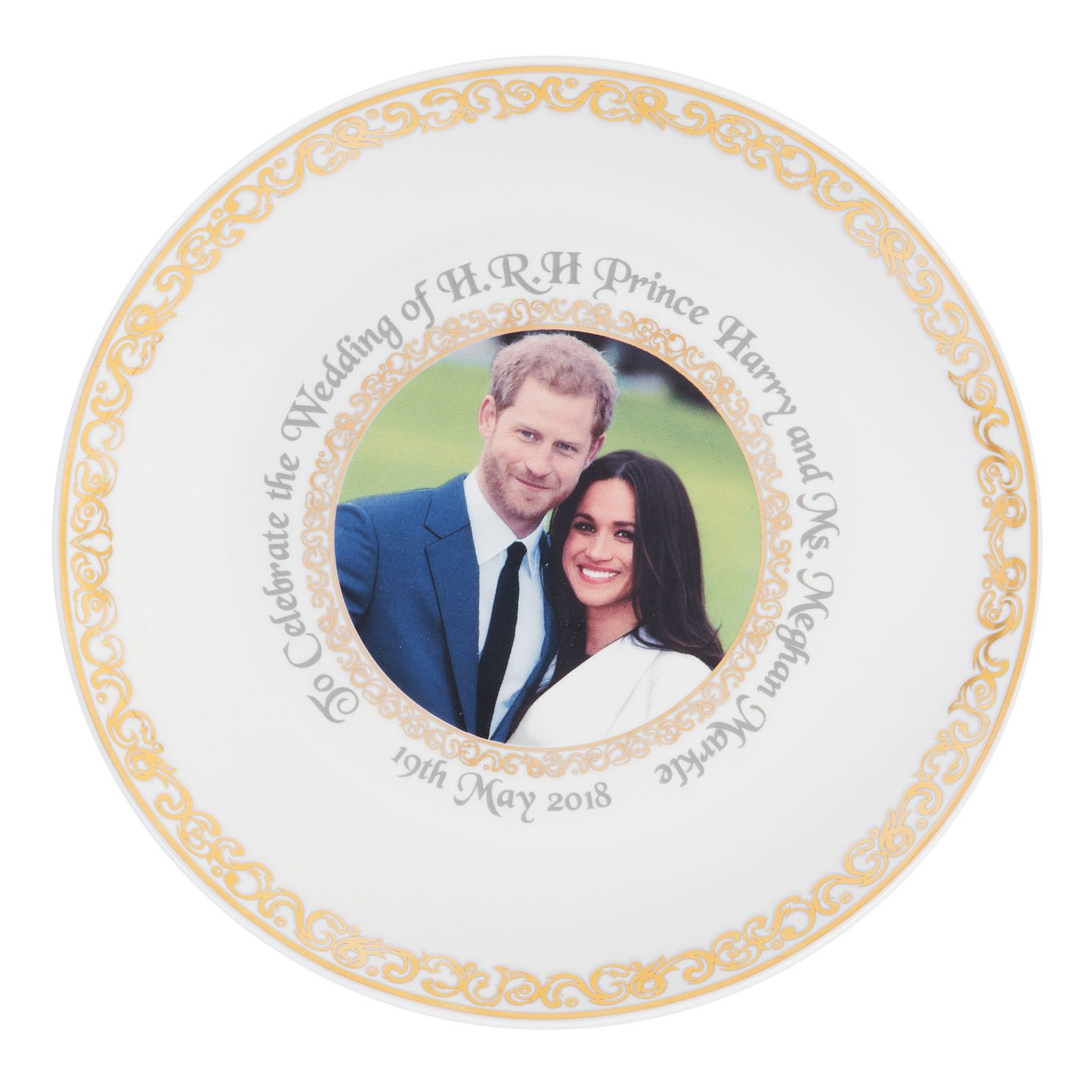 Royal Wedding China Plate - Product number 9387781