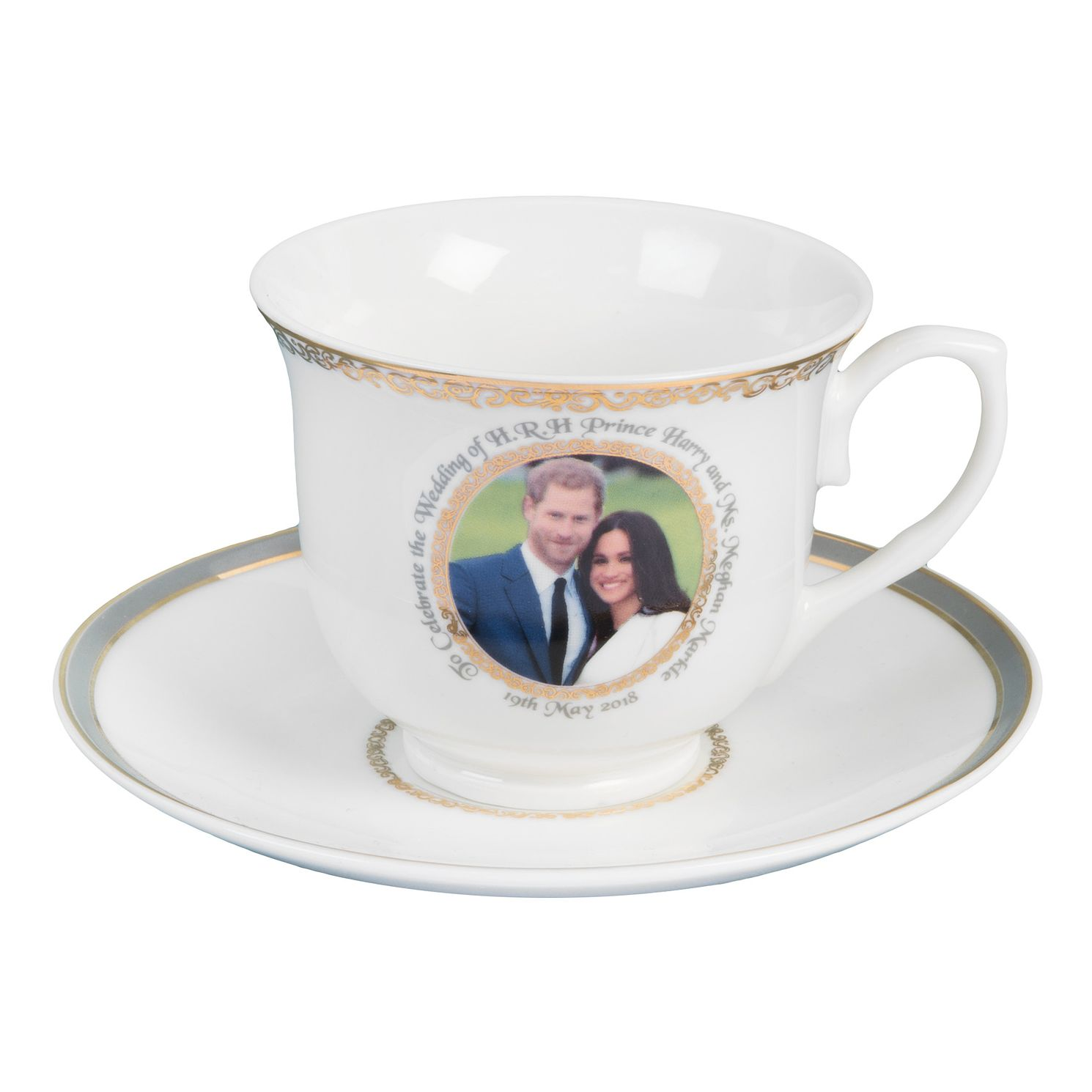 Royal Wedding Cup And Saucer - Product number 9387811