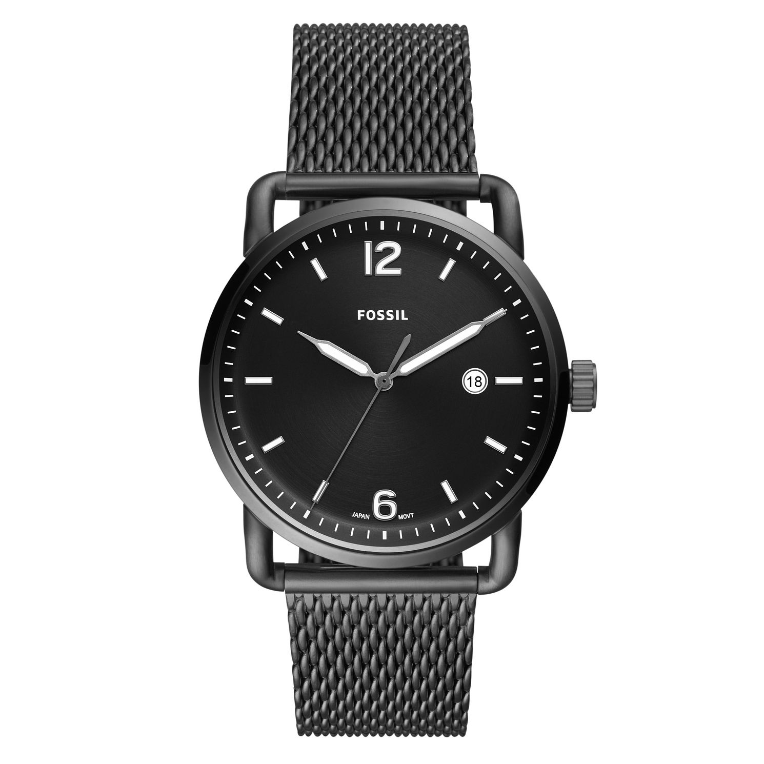 Fossil Commuter Black Bracelet Watch - Product number 9390448