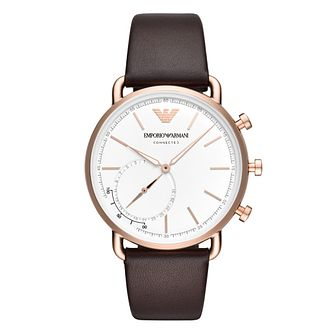 Emporio Armani Connected Gen 4 Rose Gold Tone Smartwatch - Product number 9390731