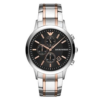 Emporio Armani Stainless Steel Black Bracelet Watch - Product number 9391207