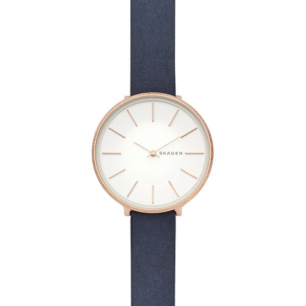 Skagen Karolina Ladies' Rose Gold Plated Strap Watch - Product number 9391215