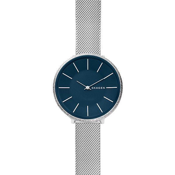 Skagen Ladies' Karolina Blue Dial Bracelet Watch - Product number 9391231