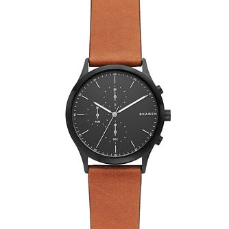 Skagen Jorn Men's Ion Plated Strap Watch - Product number 9391312