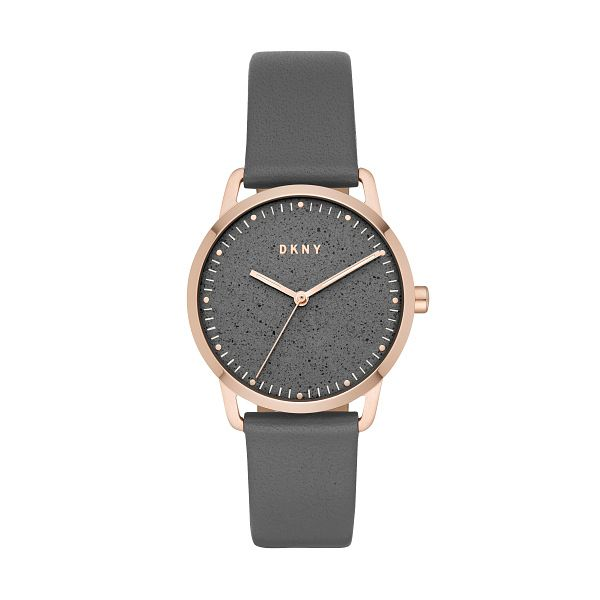 Dkny Ladies' Rose Gold Plated Green Dial Watch - Product number 9391495
