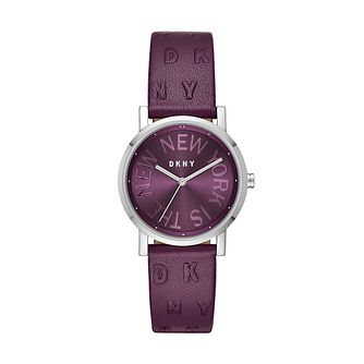 DKNY Soho Ladies' Stainless Steel Strap Watch - Product number 9391509