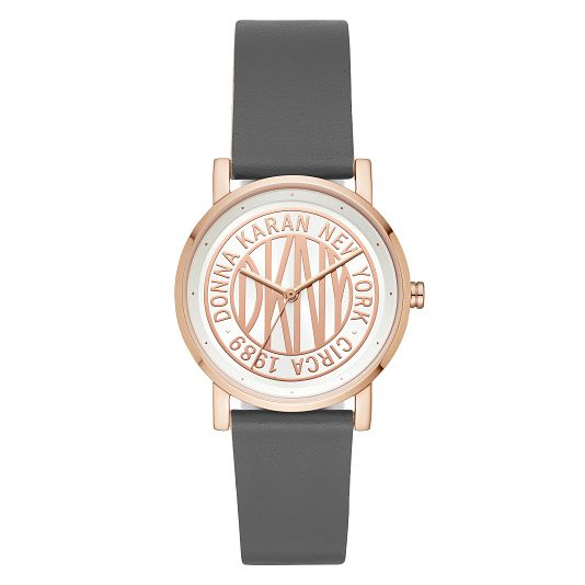 DKNY Ladies' Rose Gold Tone Strap Watch - Product number 9391525