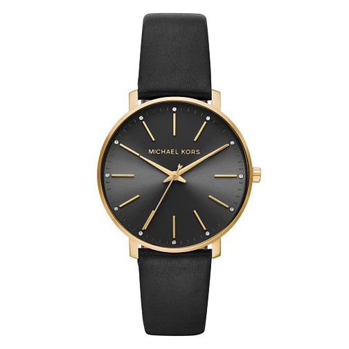 Michael Kors Pyper Ladies' Black Strap Watch - Product number 9391568