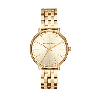 Michael Kors Merrick Men'S Yellow Gold Plated Bracelet Watch - Product number 9391703