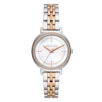 Michael Kors Cinthia Ladies' Two Tone Bracelet Watch - Product number 9391762