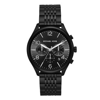 Michael Kors Merrick Men'S Black Bracelet Watch - Product number 9393013