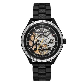 Michael Kors Men's IP Merrick Black Bracelet Watch - Product number 9393099