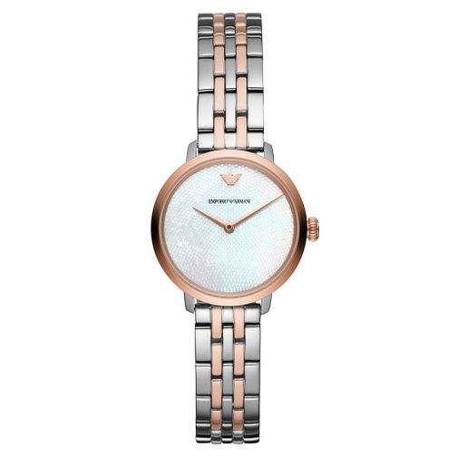 Emporio Armani Ladies' Two-Tone Bracelet Watch - Product number 9393153