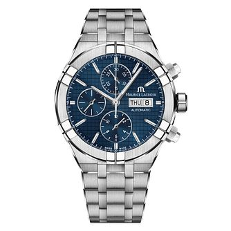 Maurice Lacroix Aikon Blue Chonograph Watch - Product number 9394524