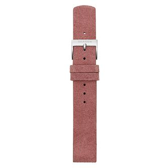Skagen 16mm Pink Leather Strap - Product number 9395385