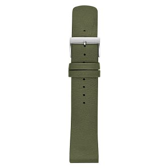 Skagen 22mm Green Leather Strap - Product number 9395466