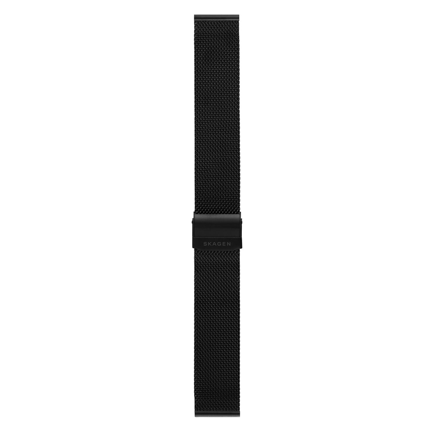 Skagen 20mm Black Mesh Strap - Product number 9395490