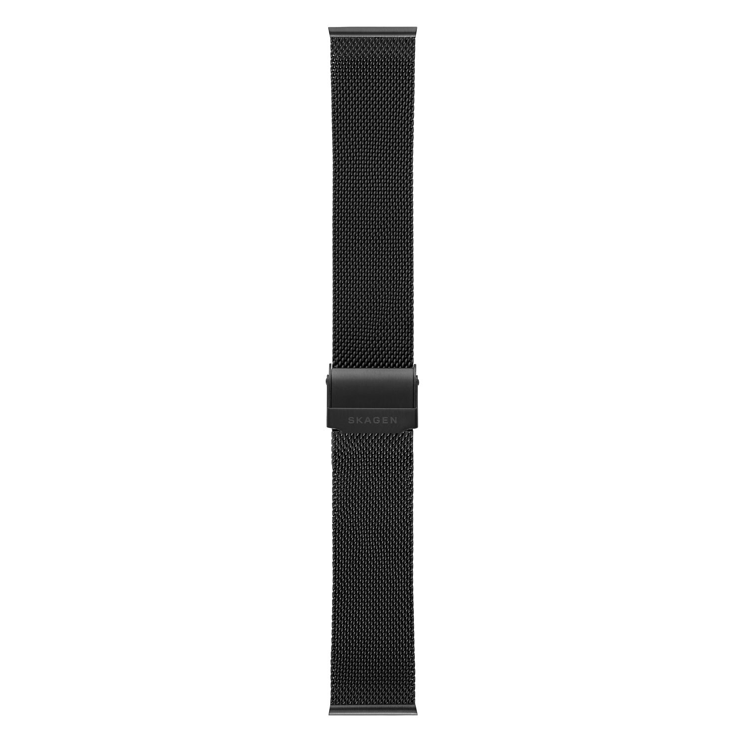 Skagen 21mm Black Mesh Strap - Product number 9395539