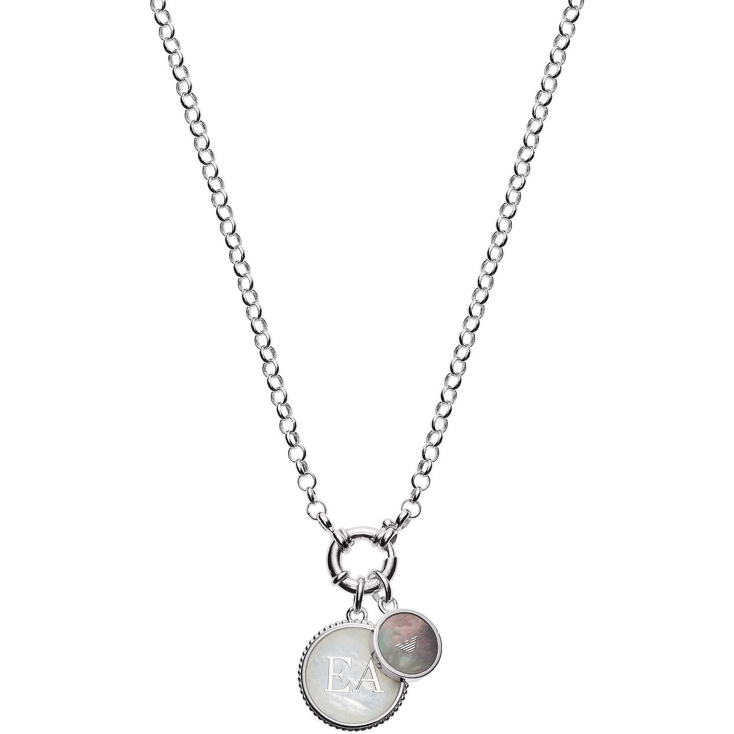 Emporio Armani Silver Logo Necklace - Product number 9397922