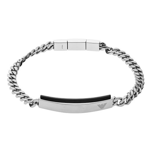 Emporio Armani Men's Stainless Steel Form Chain Bracelet - Product number 9398007