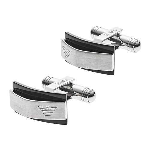Emporio Armani Stainless Steel Form Cufflinks - Product number 9398015