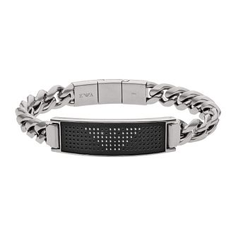 Emporio Armani Men's Stainless Steel Stud Eagle Bracelet - Product number 9398392