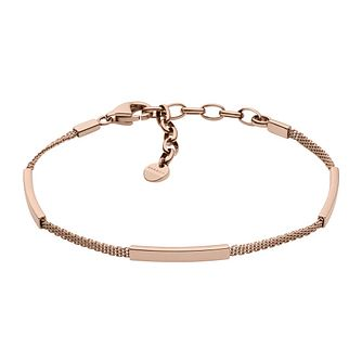 Skagen Merete Ladies' Rose Gold Tone Bracelet - Product number 9398430