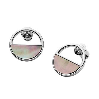 Skagen Agnethe Ladies' Stainless Steel Earrings - Product number 9398449