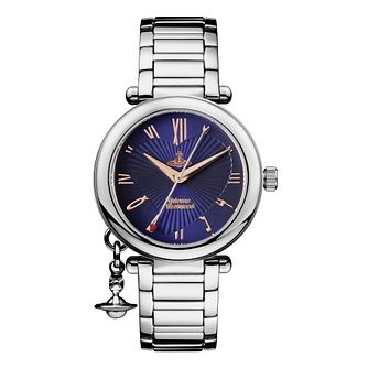 Vivienne Westwood Orb Blue Dial Bracelet Watch - Product number 9400168