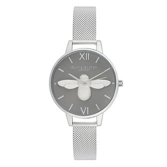Olivia Burton Ladies' 3D Bee Stainless Steel Bracelet Watch - Product number 9405577