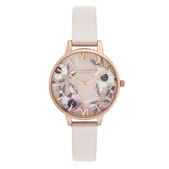 Olivia Burton Ladies' Rose Strap Watch - Product number 9405585