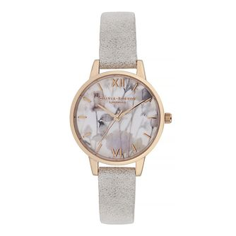 Olivia Burton Ladies' White Textured Strap Watch - Product number 9406964
