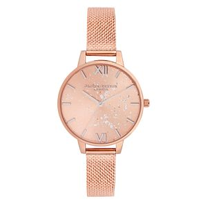 Olivia Burton Ladies' Celestial Rose Gold Bracelet Watch - Product number 9406980
