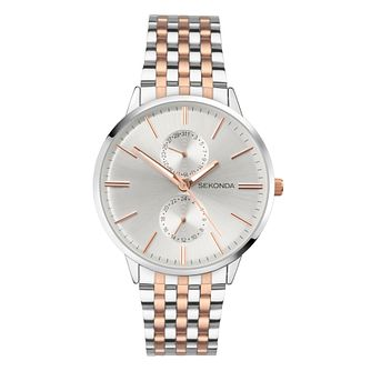 Sekonda Men's Two Colour Bracelet Watch - Product number 9407553