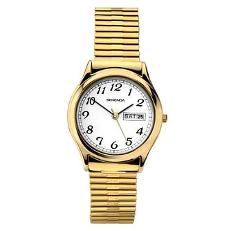 ddb45d572a98 Sekonda Men s Gold Plated Stainless Steel Bracelet Watch - Product number  9407960