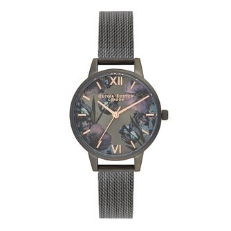 Olivia Burton Twilight Ladies' IP Gunmetal Bracelet Watch - Product number 9408010