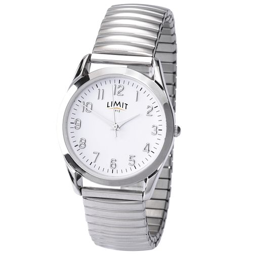 Limit Men's Round White Dial Expander Watch - Product number 9408428