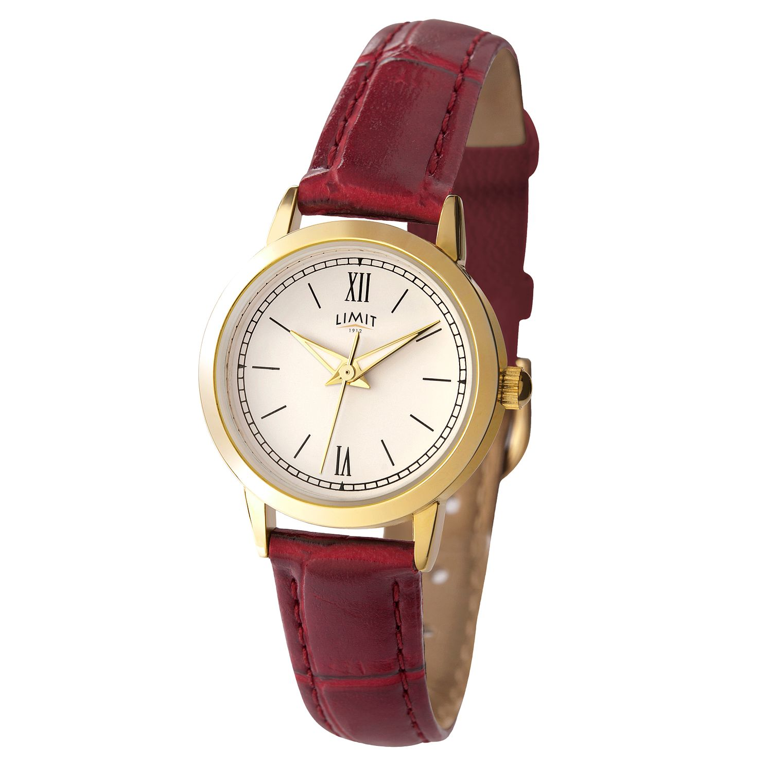 Limit Burgundy Strap Watch - Product number 9408525