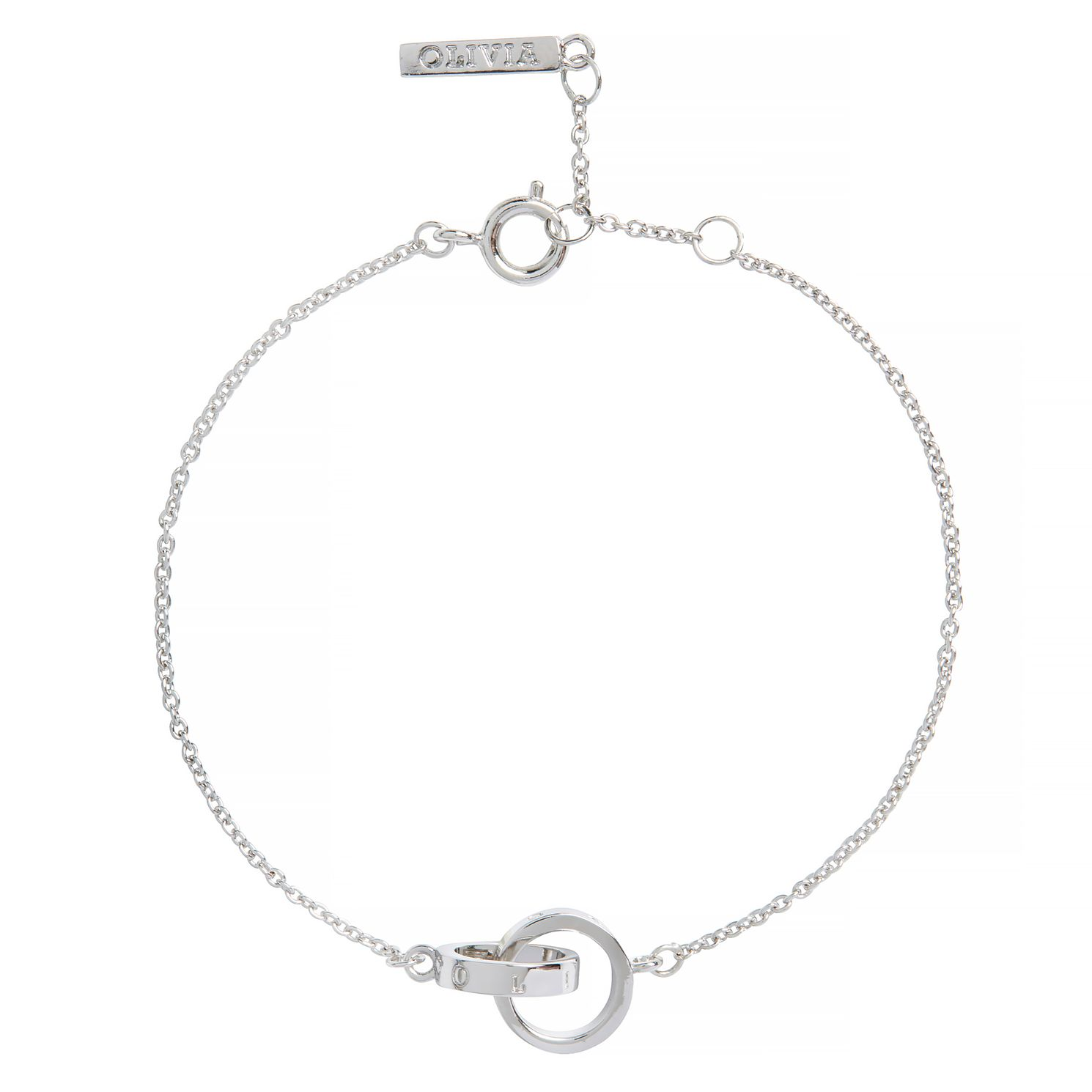 Olivia Burton The Classics Rhodium Plated Chain Bracelet - Product number 9408754