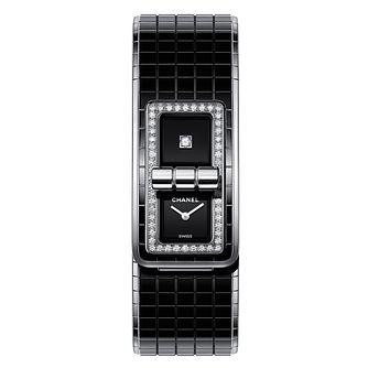 Chanel Code Coco Ladies' Steel Diamond Set Bracelet Watch - Product number 9409661