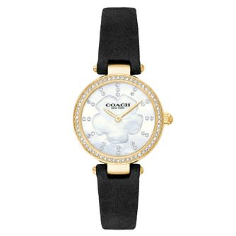 Coach Park Ladies' Stone Set Strap Watch - Product number 9410295