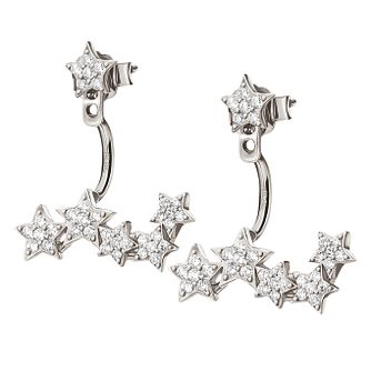 Folli Follie Ladies' Sterling Starry Sky Cuff Earrings - Product number 9415858