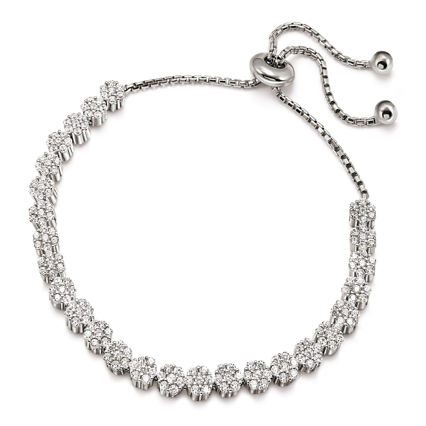 Folli Follie Fashionably Silver Ladies' Cube Bracelet - Product number 9416021