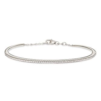 Folli Follie Fashionably Silver Ladies' Clasp Bracelet - Product number 9416129