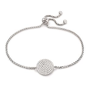 Folli Follie Ladies' Sterling Silver Cubic Zirconia Bracelet - Product number 9416552